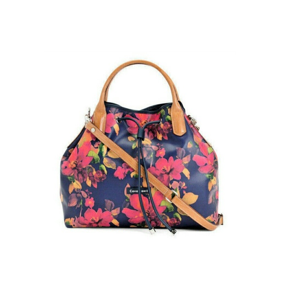 985804f87f78 Cavalcanti Floral Leather Handbag